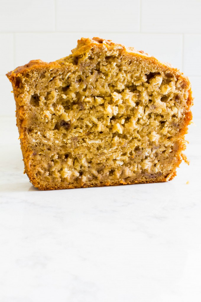 coconut flour banana bread (with caramelized bananas!) | immaEATthat.com