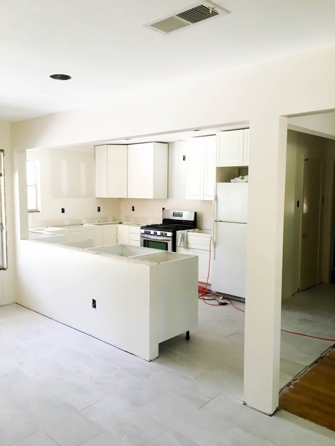 kitchen remodel DURING | immaEATthat.com