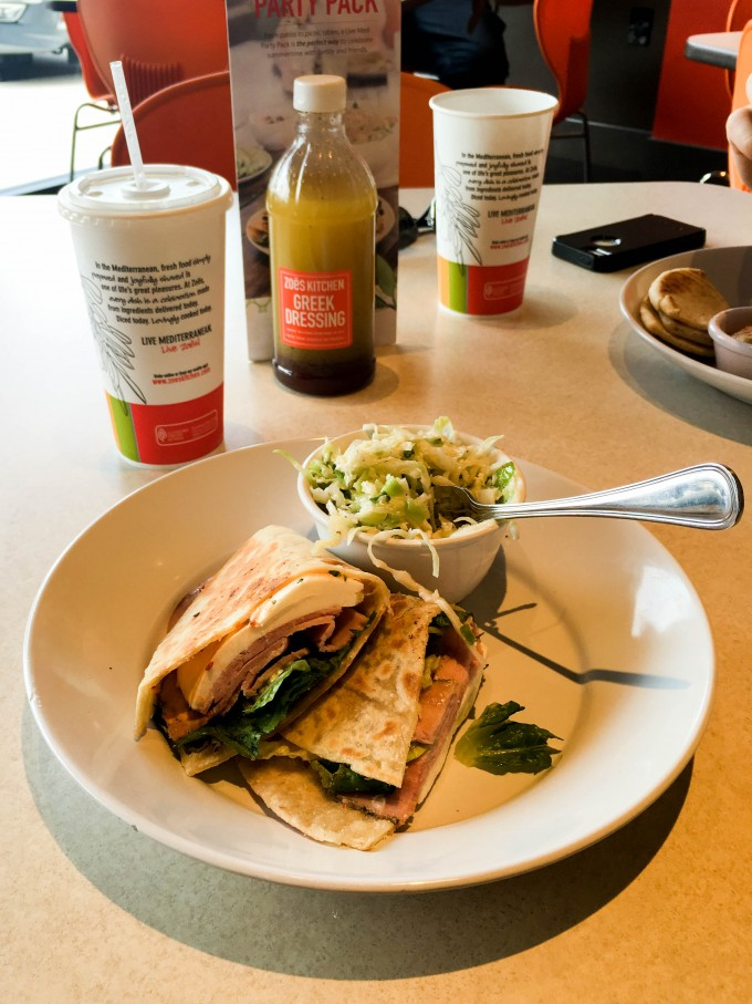 lunch at zoe's kitchen | immaEATthat.com