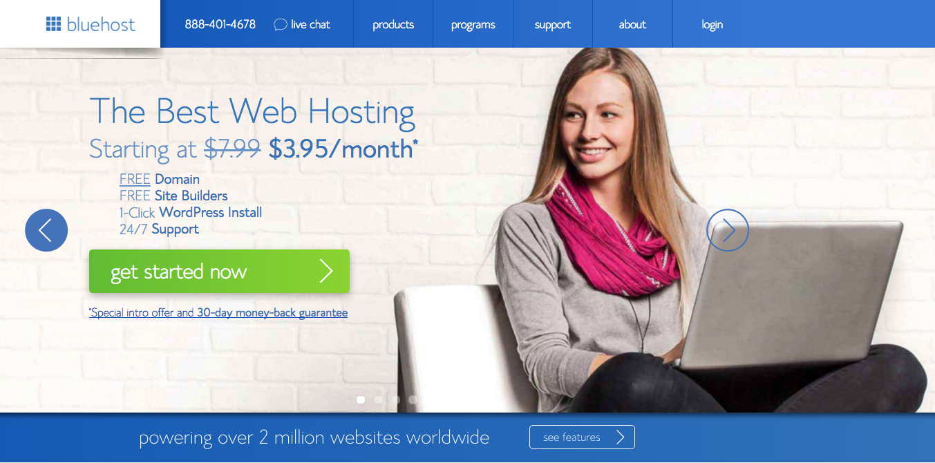 bluehost-home-landing-page