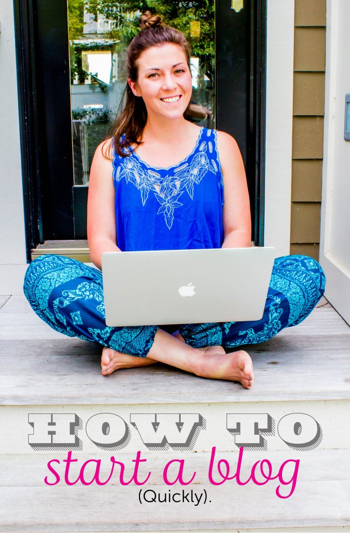 How to start a blog EASY and FAST. A step-by-step tutorial. | immaEATthat.com