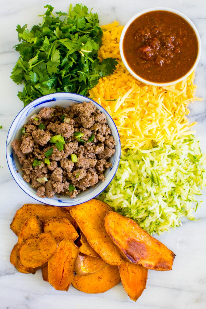 sweet potato mexican lasagna | immaEATthat.com