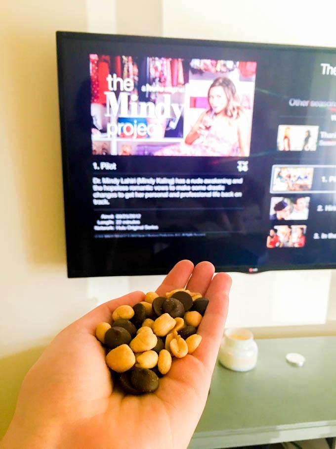 peanut + chocolate snack | immaEATthat.com