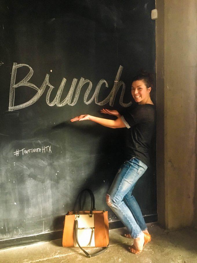 brunch at Tout Suite | Houston, TX