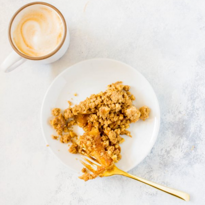The Epicest Caramelized Apple Crumble Bars.