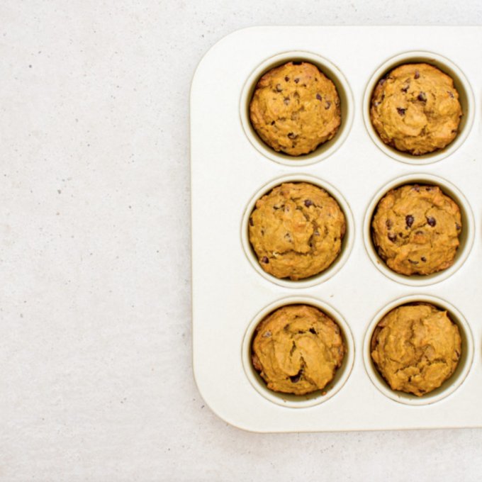 The Chocolate Chip Pumpkin Muffins I'll be making all Fall.